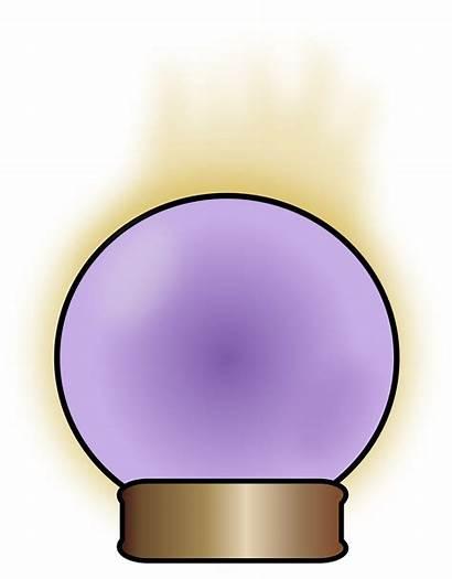 Clipart Crystal Cartoon Ball Transparent Fortune Teller