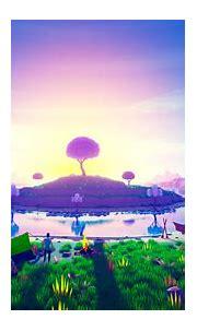 3D Island in Sunset Wallpaper, HD Artist 4K Wallpapers ...