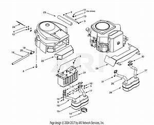Troy Bilt 14bv809h063  2001  Parts Diagram For Engine