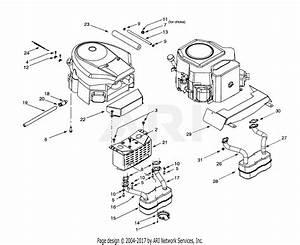 Troy Bilt 14bv809h063  2001  Parts Diagram For Engine Accessories
