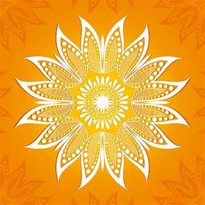 Dessin Fleurs De Lotus : illustration de vecteur mod le de circulaire de fleur un dessin stylis mandala fleur de lotus ~ Dode.kayakingforconservation.com Idées de Décoration