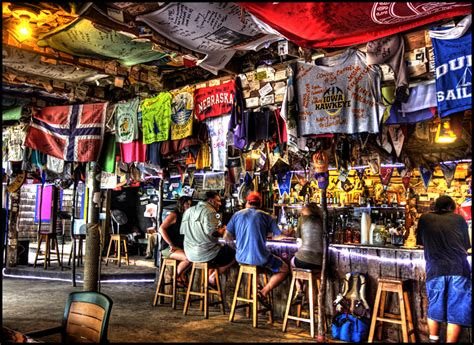 Beach Bars in HDR – Foxy's, Jost Van Dyke, British Virgin ...