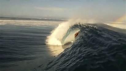 Ocean Rainbow Wave Surfer Gifs Surf Surfing