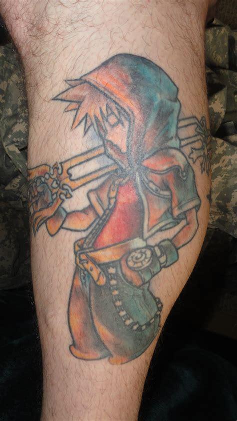 finished kingdom hearts tattoo  wisscout