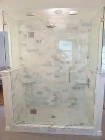marble bathroom tile ideas renovation 3 master bathroom marble frameless glass shower subway tile bathroom