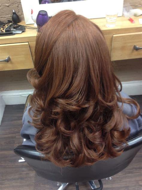 curly blowdry hair makeup   cabello cabello