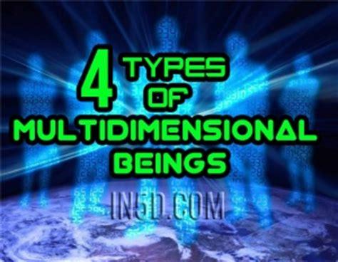 types  multidimensional beings ind