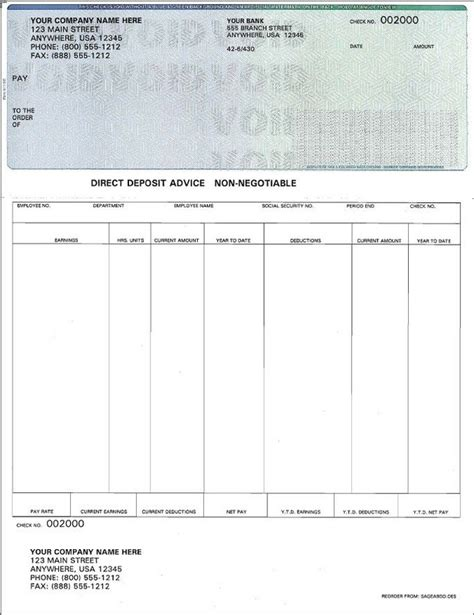 Free Check Stub Template Printables by Create Print Out Pay Stubs Picture Of Check Stubs