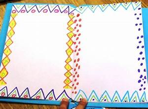 Simple Border Designs For School Projects To Draw ...