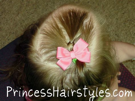 Toddler Hairstyles, Quick Ponytail Knot
