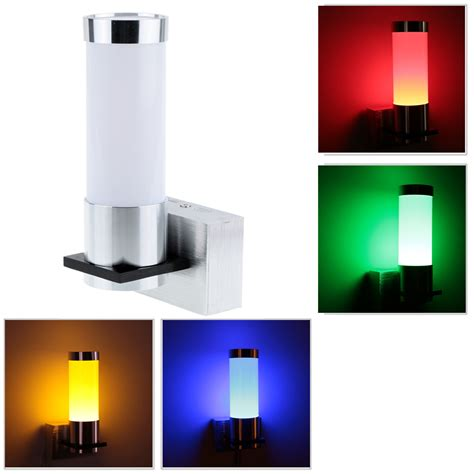 led wall lights indoor 1w modern simple led wall light sconce l indoor bedroom