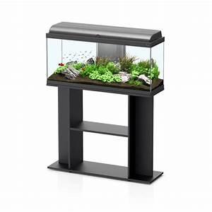 aquarium aquadream 100x30x45 noir avec meuble aquariofilcom With meuble 100 x 30