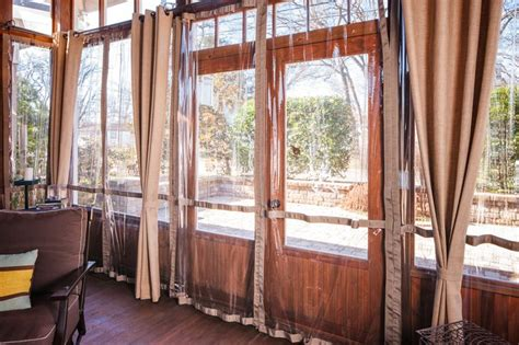 1000 ideas about screened porch curtains on