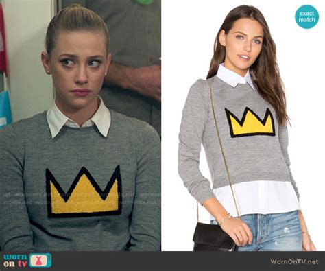 Bettyu2019s crown sweater on Riverdale | Crown Detail and Betty cooper