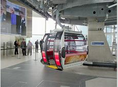 Cable Car Terminus at North Greenwich © Christine Matthews