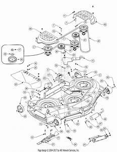Troy Bilt 14ap80tp766 Big Red Gt50  2006  Parts Diagram