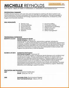 5 experienced dental hygienist resume financial With dental assistant resume sample