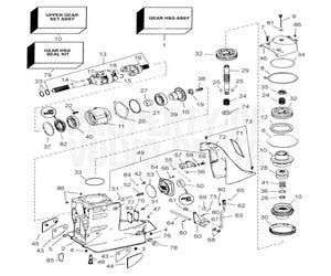 volvo penta sx series outdrives transmissions engine