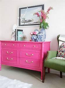 10, Pink, Painted, Furniture, Makeovers, U2013, Craftivity, Designs