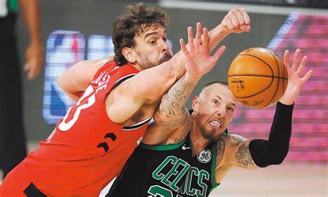 english news 英语新闻-Celtics have champions on the ropes