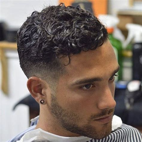 The Curly Hair Fade   Short curly hair, Haircuts and Mens hair