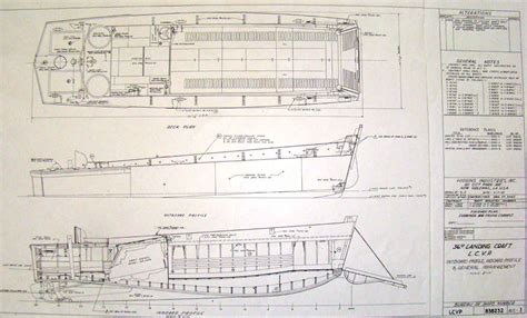 Higgins Boat Plans Model by Lcvp Blueprints Pictures To Pin On Pinsdaddy