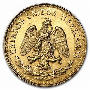 Mexican 2 Pesos Gold Coin