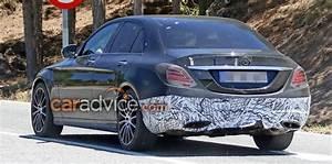 Mercedes Classe C Restylée 2018 : 2018 mercedes benz c class facelift spied inside and out photos caradvice ~ Maxctalentgroup.com Avis de Voitures