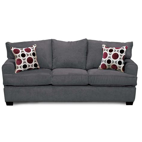Contemporary Grey Sofa by Casual Contemporary Sterling Gray Sofa City Rc Willey