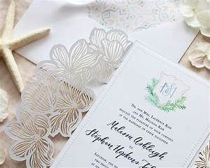Cabo san lucas lasercut destination wedding invitations for Laser cut wedding invitations san diego
