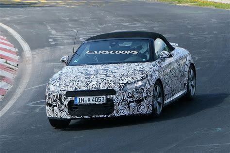 Scoop New Audi Roadster Coming Next Carscoops