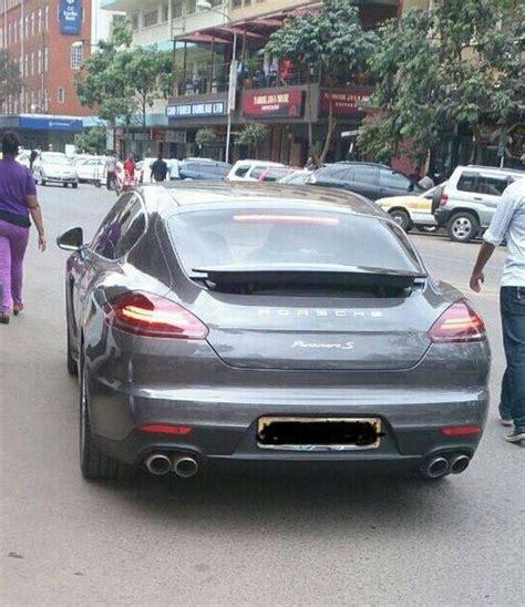 Ksh 20 Million Porsche Panamera S On The Streets Of