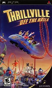 Thrillville Off The Rails PSP Game