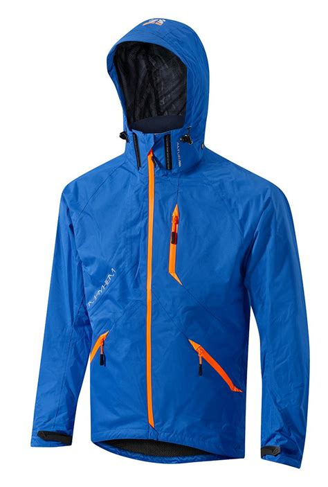 orange cycling jacket altura mayhem mens cycling jacket blue orange ebay