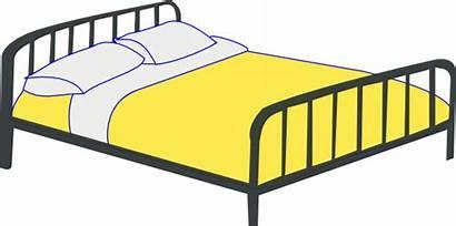 Bed Double Clip Clipart Clker Rfc Svg