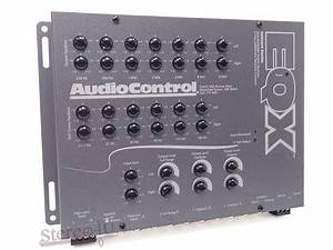 Audiocontrol Eqx Car Stereo 2channel Equalizer   Crossover Eq Audio Control New