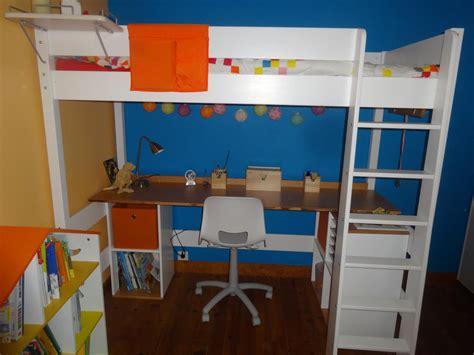 bureau pour lit mezzanine clay