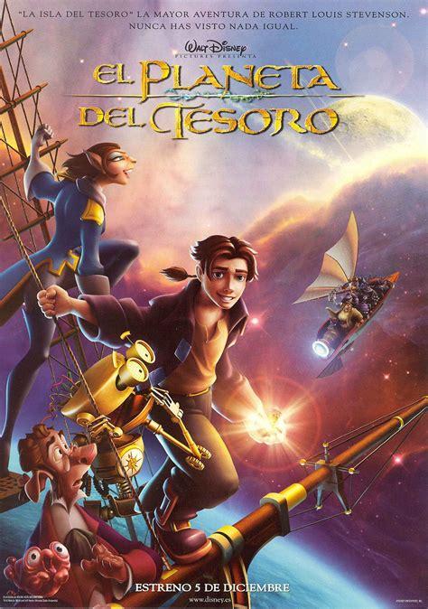 Treasure planet movie poster : El planeta del tesoro | Carteles de disney, Cine de animacion y Pelis de dibujos