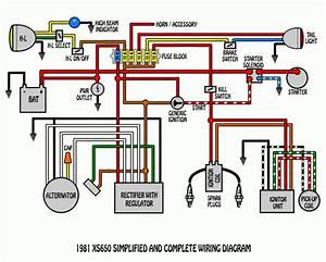 Classic Mini Headlight Wiring Diagram  With Images