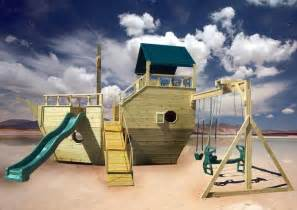 Boat Swing Set Plans