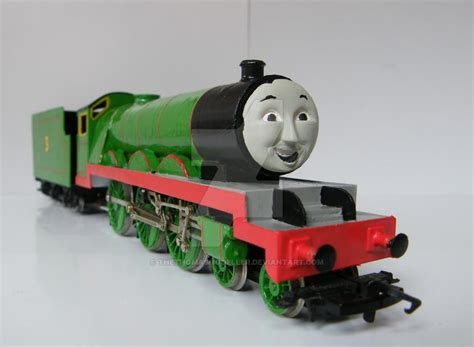Henry The Green Engine By Thethomasmodeller On Deviantart