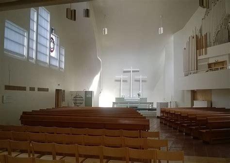 Church of the Three Crosses Imatra Alvar Aalto