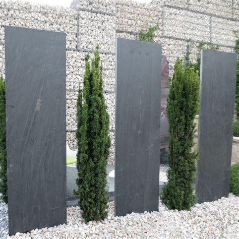 Sichtschutz Garten Schiefer by Schiefer N 214 Hmer Beton Kies Splitt Steinkorb