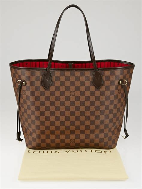 louis vuitton damier canvas neverfull mm bag yoogis closet