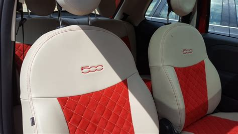 Fiat 500 Seat Covers by 2017 Fiat 500 Sport Seat Covers Velcromag