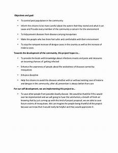 nstp project proposal With community service proposal template