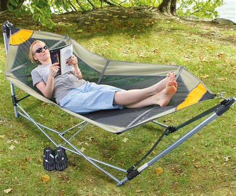 Collapsible Hammock Stand by Rv Portable Folding Hammock