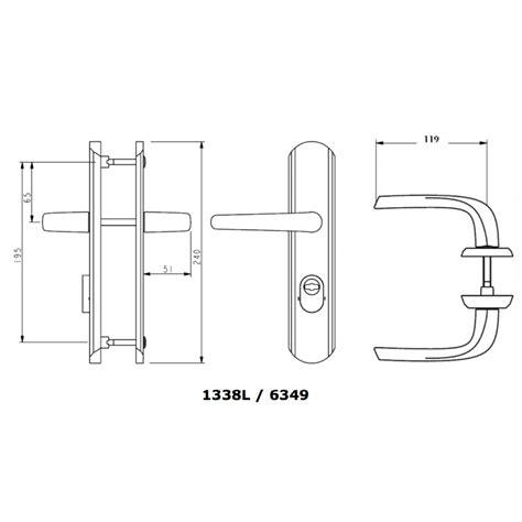 poign 233 es de porte pali 232 re secumax 224 b 233 quille et plaque borgne vachette bricozor