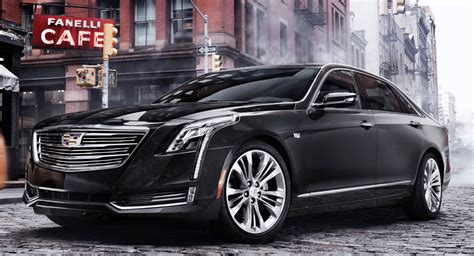 2018 Cadillac Ct6 Gets Selection Of New Goodies Carscoops