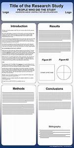 free powerpoint scientific research poster templates for With poster template 90 x 120cm